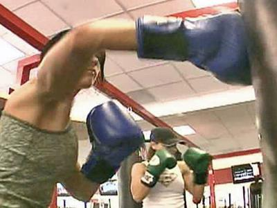 At L.A. Boxing on Harrison Avenue in Cary, N.C., traditional exercise machines line the walls, but the classes center around individual punching bags.