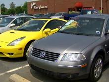 Local car dealerships say they are seeing more customers trading in their SUVs and bigger vehicles for smaller cars that are more fuel efficient.