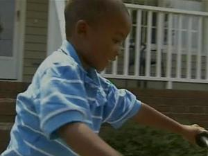 Tracey and Tony Hickson's twin sons defeated a backyard gate and nearly drowned in a swimming pool on Sunday, June 22, 2008.