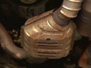 Thieves have been stealing catalytic converters from cars around the Triangle to sell the precious metals inside.