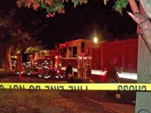 Man burned in Raleigh house fire