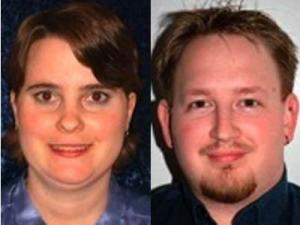 Joy Johnson, left, and Joseph Craig were charged with kidnapping, rape and assault in connection with what authorities called a satanic cult. (Photos from TheIndigoDawn.com)