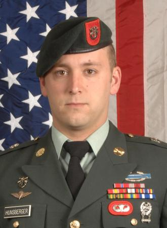 Staff Sgt. Travis K. Hunsberger