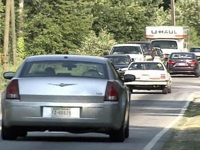 The city has planned to widen a heavily traveled section of Rock Quarry Road in Raleigh.