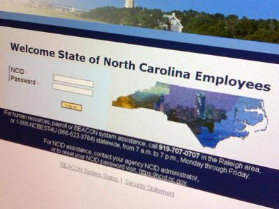Some employees are coming up short in their paychecks because of a glitch in the state's $70 million Beacon payroll system.