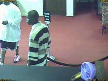 Surveillance cameras caught two men robbing the First Citizens Bank, 4801 Capital Blvd., on Thursday, July 3, 2008.