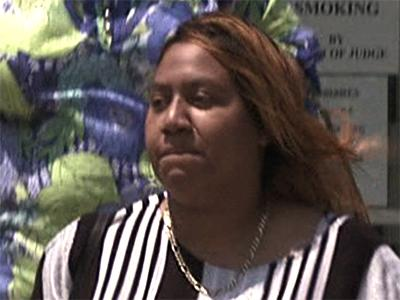 Shahita White, daughter of Vance County Sheriff Peter White, leaves the Vance County Magistrate's Office on Thursday, July 3, 2008, after being charged with a DWI in connection with an early-morning traffic stop more than three months earlier on March 23.