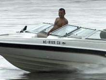 Boaters, campers brave weather