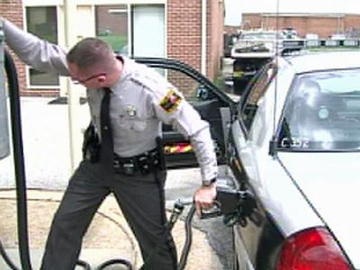 The cost of state troopers diving more than 50 million miles annually has jumped to about $9 million. The state budget for 2008-2009 includes $5.2 million for the Highwa Patrol's fuel costs.