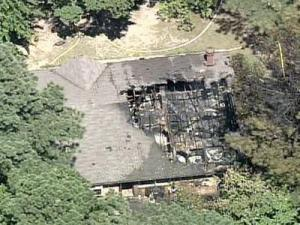 Sky 5 flew over the home at 3110 Swing Road on July 17, 2008.