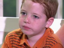 Second-grader left by bus driver