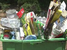 Recycling goes uncollected on hot days