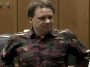 Former teacher Eric Grange appears in court on July 28, 2008, for the first day of his trial on charges he sexually abused some of his students.