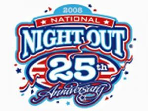 National Night Out Against crime is held Aug. 5, 2008. (Image courtesy of the National Association of Town Watch.)