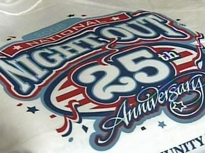 The National Night Out program is celebrating its 25th anniversary this year.