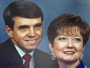 James Preston Holmes, 65, and Mary Charles Holmes, 65, of Louisburg, were killed June 27, 2008, when a pickup truck crossed the center line along U.S. Highway 401, colliding with Holmes' Corvette.