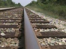 Thieves make off with railroad tracks