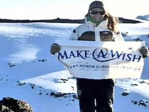 A chance to climb Mount Kilimanjaro helped inspire Julia Heffring, 15, of Raleigh, to raise $7,500 for the Make-A-Wish Foundation.