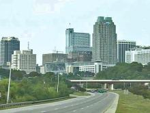Raleigh skyline - with convention center