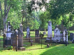 Cross Creek Cemetery is Fayetteville's oldest municipal graveyard and a National Historic site. It contains North Carolina's oldest Confederate monument. (Photo courtesy of www.visitfayettevillenc.com)