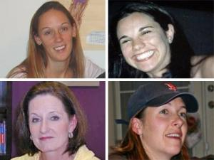 Clockwise, from top left: Janet Abaroa, Michelle Young, Nancy Cooper, Rose Wynn