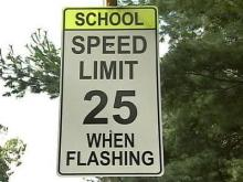 Cary police enforce school zone speed limits