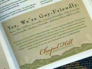 Communities pursue gay tourists