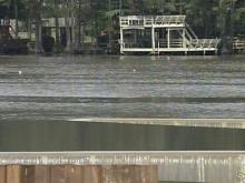Despite recent rains, dam at Hope Mills Lake coming up short