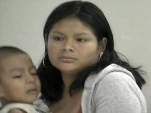 Francisca Herrera, 22, testified through an interpreter on Sept. 10, 2008.