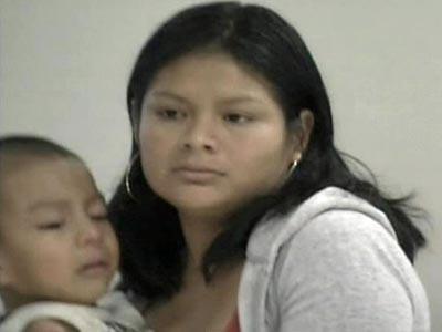 Francisca Herrera, 22, testified through an interpreter on Sept. 10, 2008.