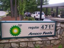 Ike sends local pump prices soaring