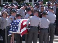 Hundreds remember trooper killed in wreck
