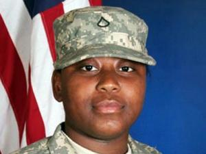 Pfc. Shelly Monique Brown