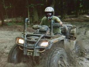 An ATV rider enjoys the trail at Busco Beach. (Image from Busco Beach Web site)