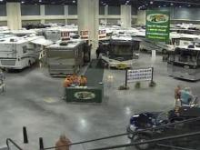 RV show marks first trade show at convention center