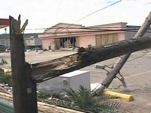 Hurricane Ike battered the Texas coast
