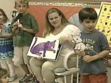 Kindergarten teacher instills importance of reading