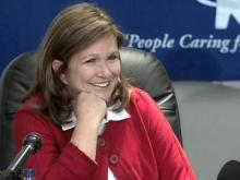 Elizabeth Edwards talks health care reform in Carrboro