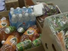 Food bank supplies dwindle as economy sours