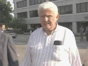 Former Agri-Ethanol Products co-owner David Brady leaves the federal courthouse in Raleigh on Oct. 7, 2008, after being indicted on bribery and other charges.