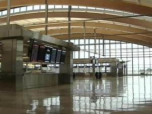 The interior of RDU's new Terminal 2 is all buffed up and ready to begin serving passengers on Oct. 26.