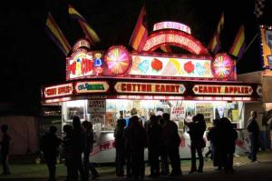 The fair offers plenty of places to satisfy your sweet tooth.