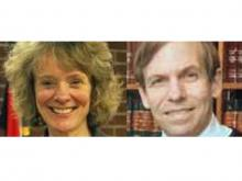 State Supreme Court candidates Suzanne Reynolds and Robert Edmunds Jr. (incumbent)