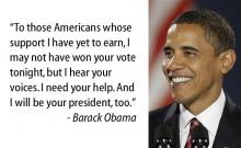 Read notable quotes from Election Day 2008.