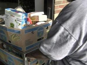 The Food Bank of Central and Eastern North Carolina provides food to people in 34 counties.