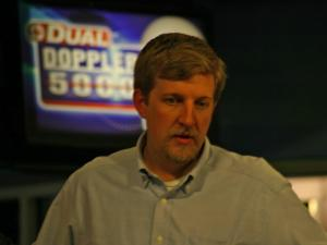 John Clark, general manager of WRAL.com, directs the online team.