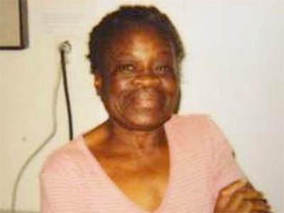 Theresa Blue, 63, was last seen on Nov. 8, 2008, in an area near Murchison Road in Fayetteville.
