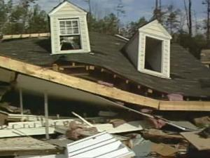 On Nov. 28, 1988, an overnight tornado killed four people and injured 157 and caused an estimated $77 million in damage as it ripped through north Raleigh subdivisions and shopping centers.
