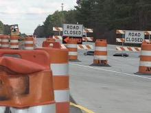 I-85 construction could cause holiday travel delays
