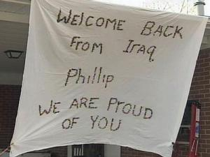 Phillip Barbee will see his family again Wednesday evening after a deployment to Iraq.